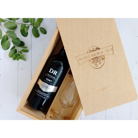 DR 10 Years Old Tawny Port Giftpack