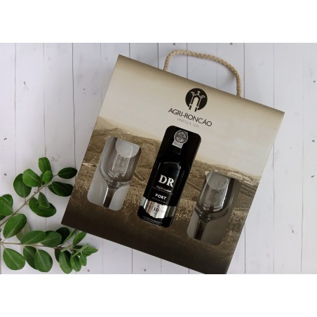 DR 10 Years Old Tawny Port Giftpack 37.5cl