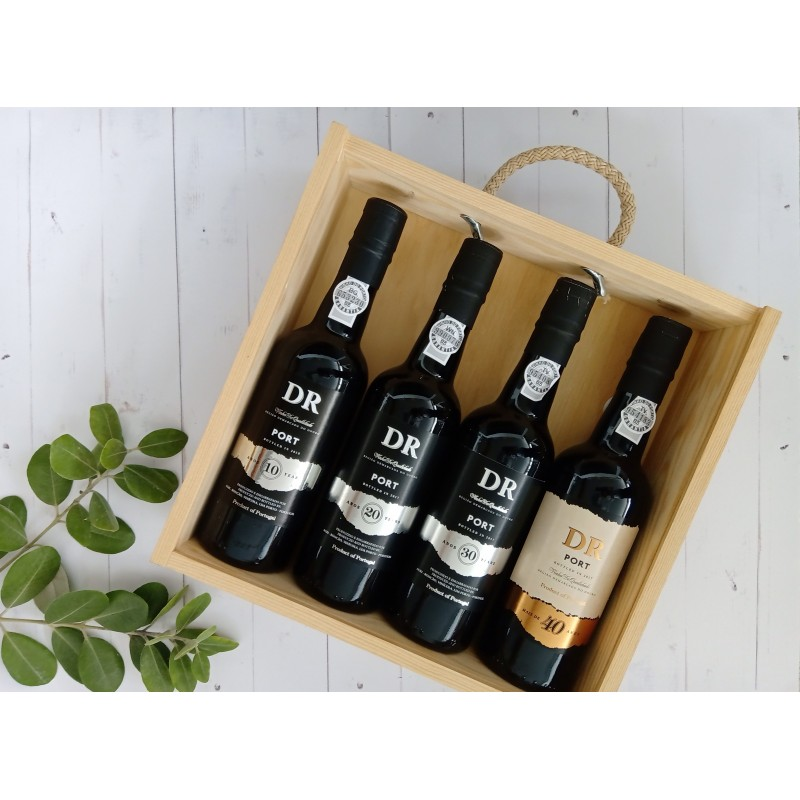 DR 10+20+30+40 Years Old Tawny Port Giftpack